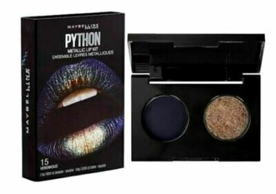 Maybelline Lip Studio Python Metallic Lip Kit - #15 Venomous
