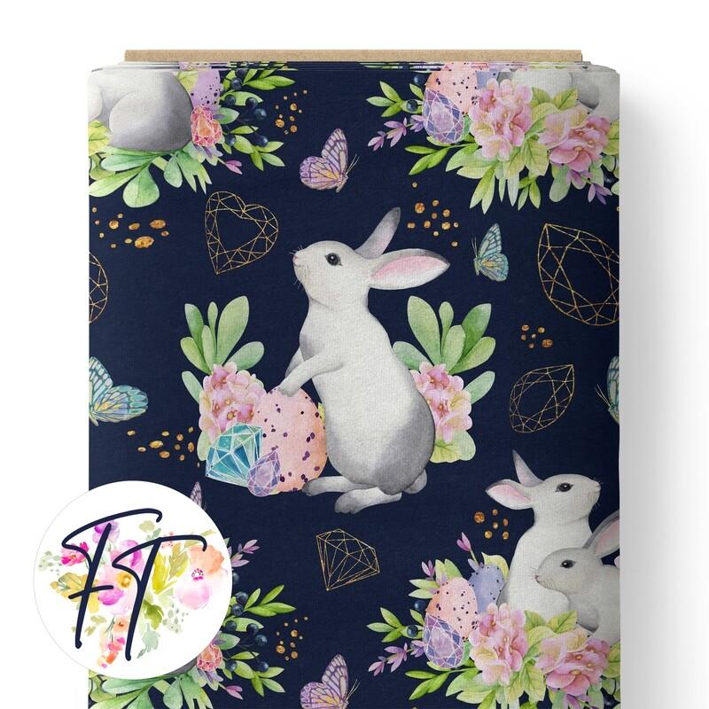 150 - Crystal Bunny Navy
