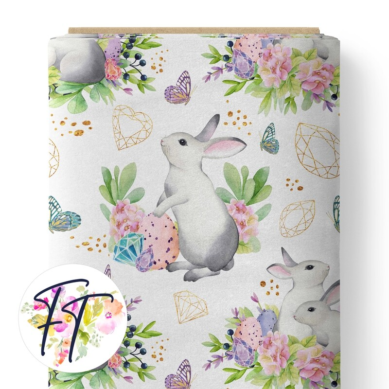 150 - Crystal Bunny White