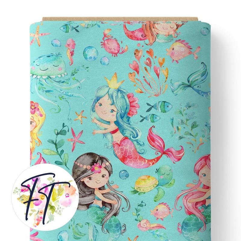 150 - Mermaid Aqua