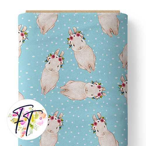 150 - Spotted Bunny Blue