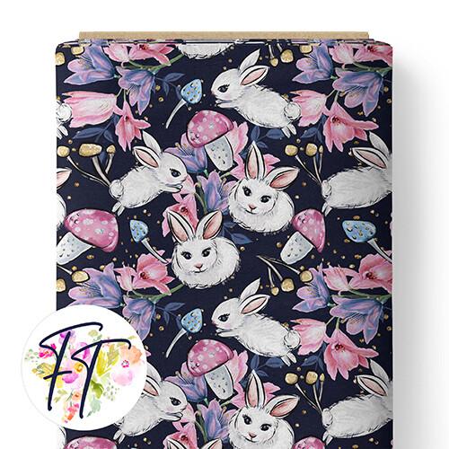 150 - Wonderland Bunny Navy