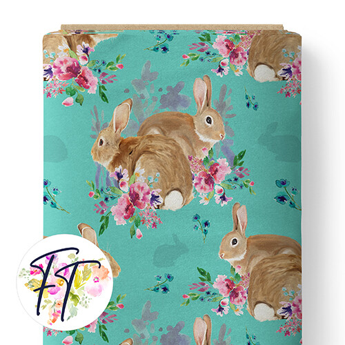 150 - Bunny Magic Teal