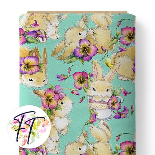 150 - Bunny Love Aqua