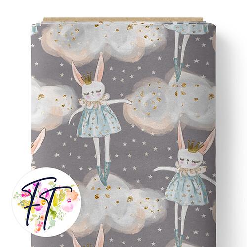 150 - Sweet Dreams Bunny Grey