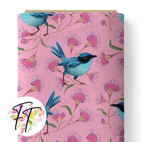 150 - Blue Wren Pink