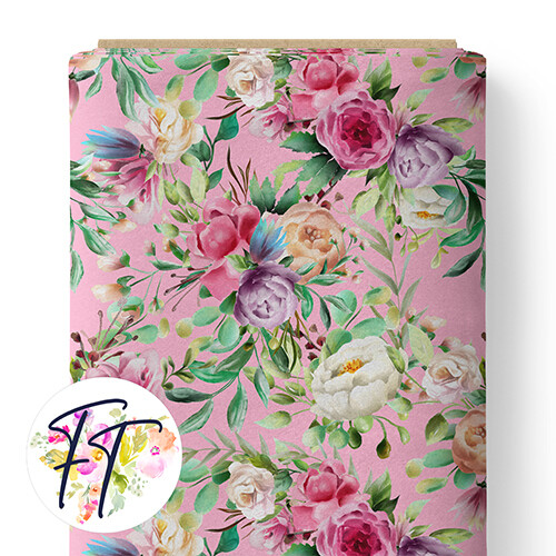 150 - Unicorn Queen Floral Pink