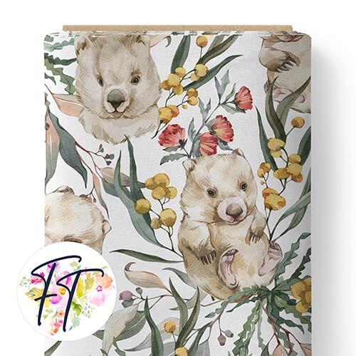 150 - Wombat Dreams White