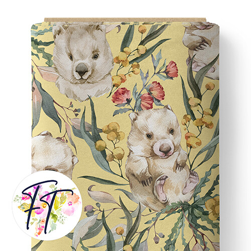 150 - Wombat Dreams Yellow