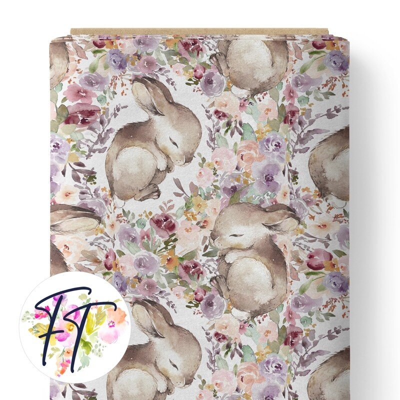 150 - Sleeping Bunny White