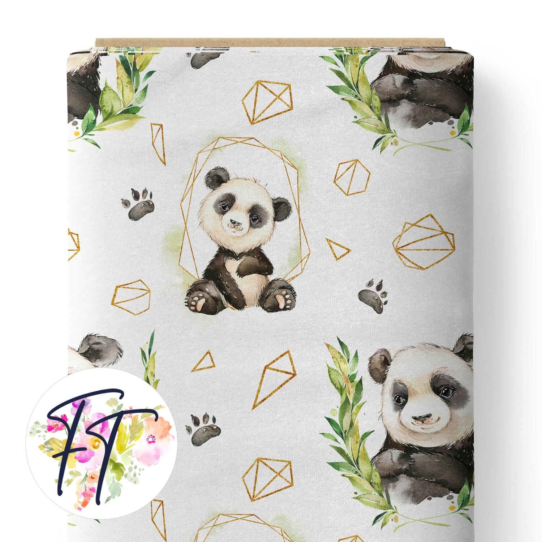 150 - Abstract Panda White