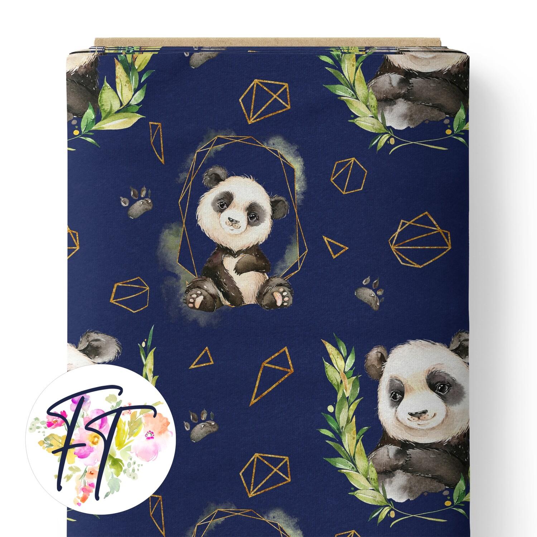 150 - Abstract Panda Navy