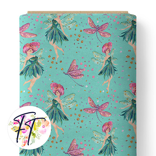 150 - Fairy Dreams Aqua