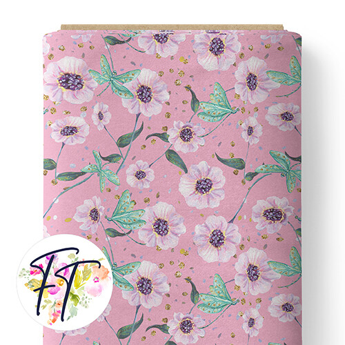 150 - Fairy Dreams Floral Pink