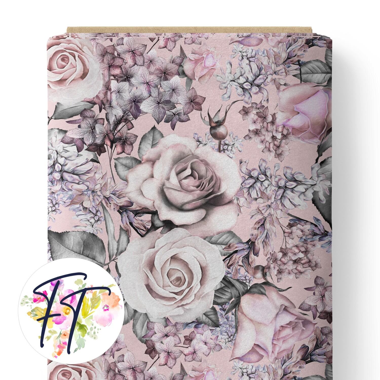 150 - Vintage Roses Pink