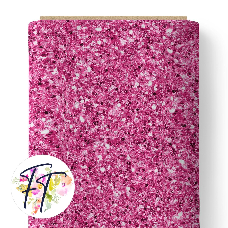 150 - Faux Glitter Pink