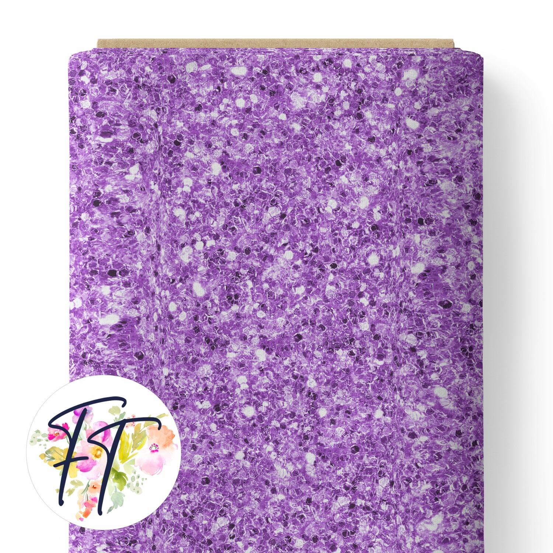 150 - Faux Glitter Purple
