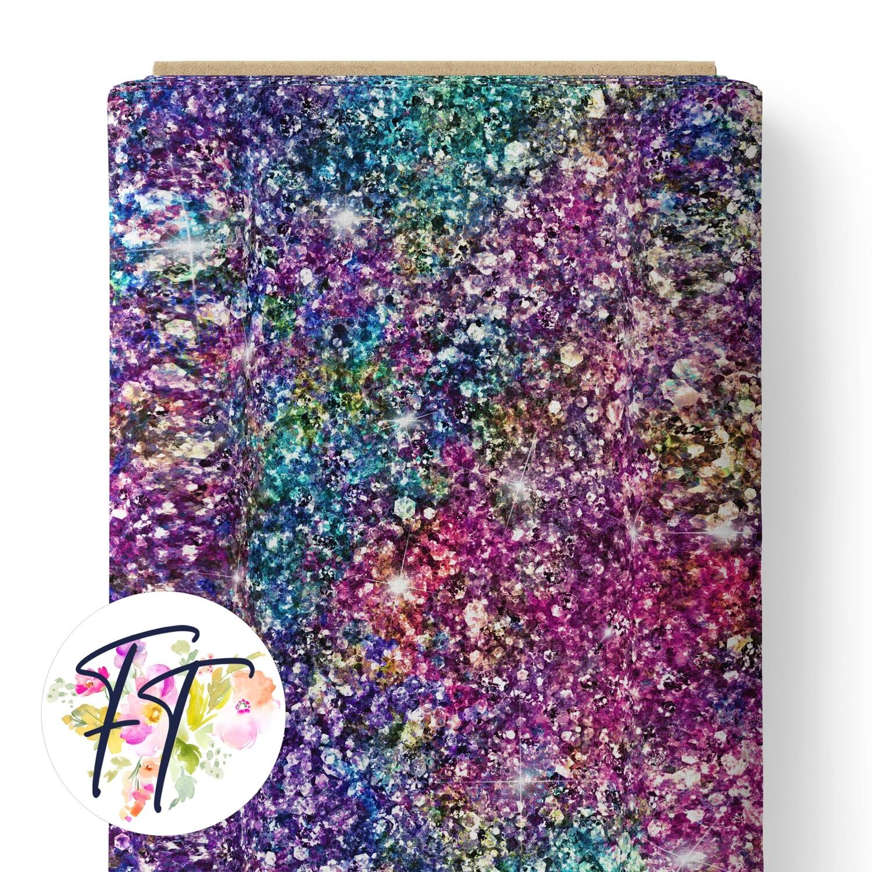 150 - Faux Glitter Galaxy