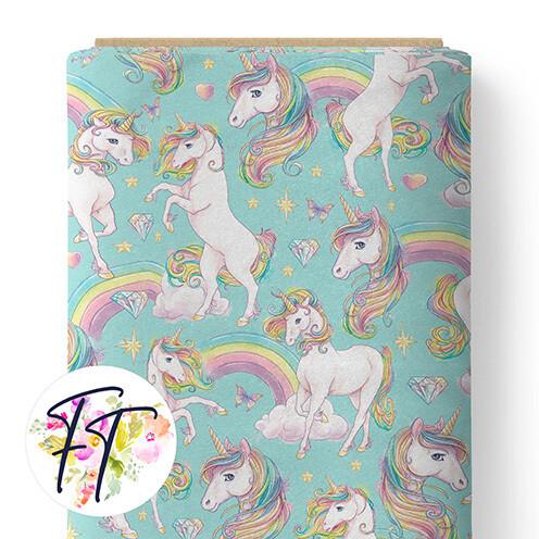 150 - Unicorn Dreams Aqua