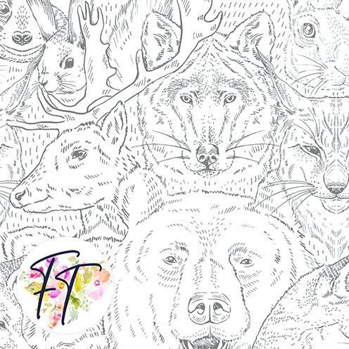 KNIT220 - Wild Portrait