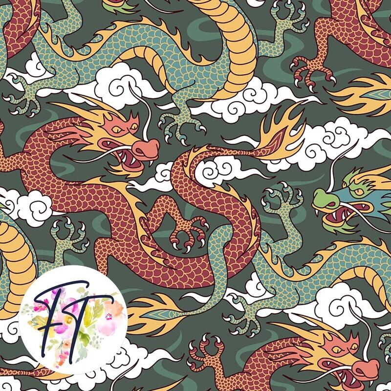 KNIT220 - Dragon Green