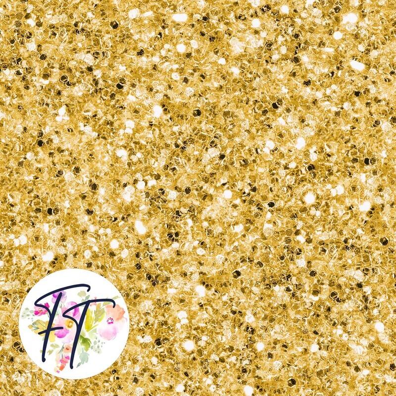 KNIT220 - Faux Glitter Gold