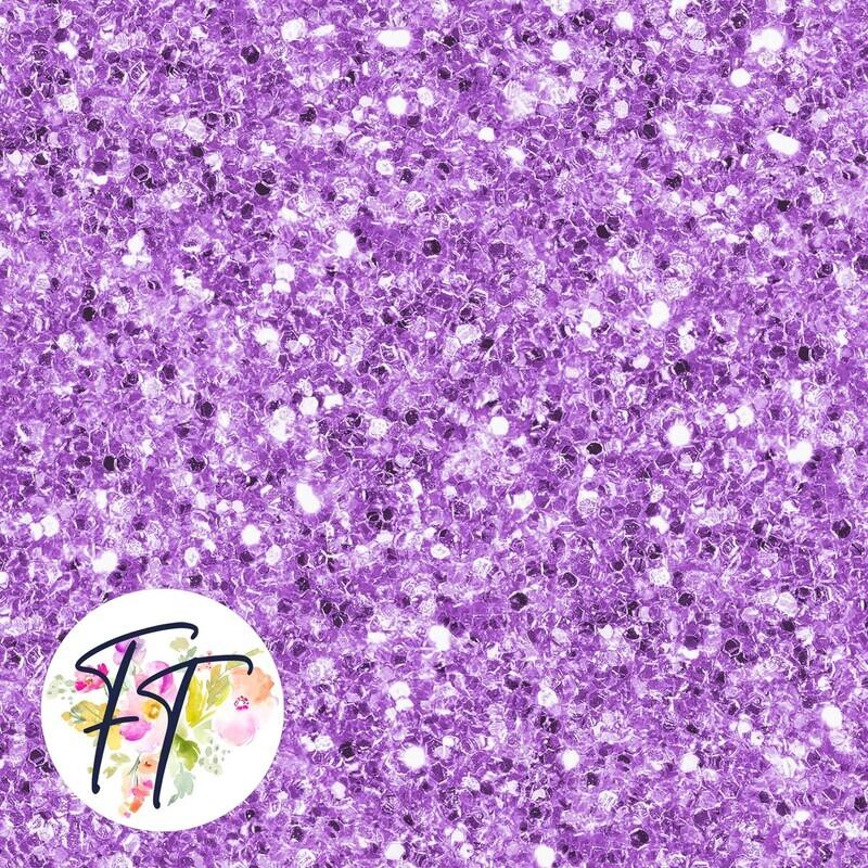 KNIT220 - Faux Glitter Purple