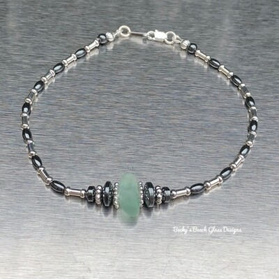Sea Glass Anklet