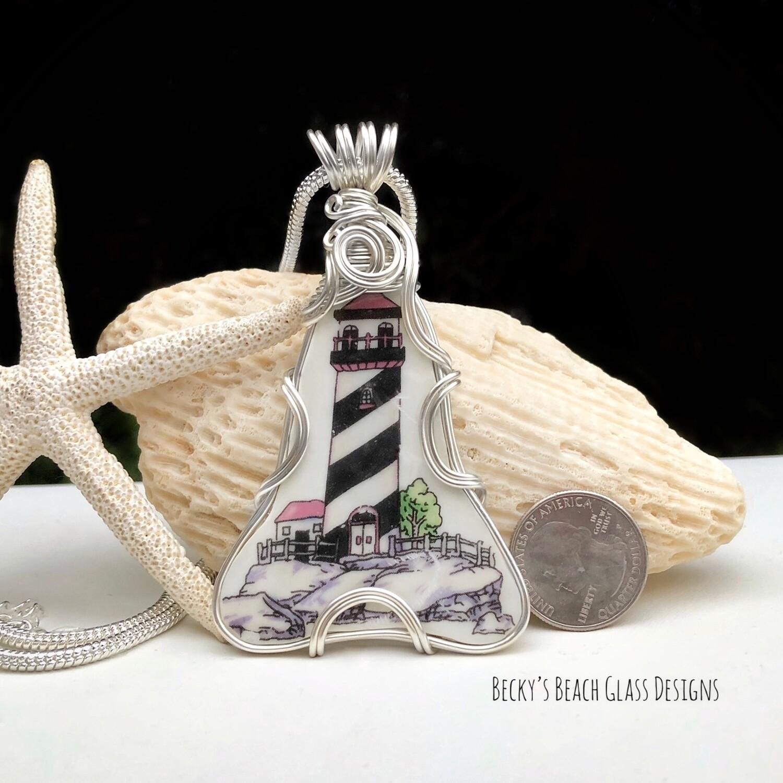 Lighthouse Pottery Statement Necklace