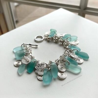 Seaglass & Swirls Cha Cha Bracelet