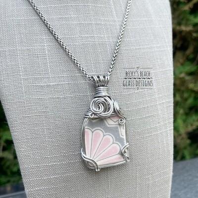 Italian Sea Pottery Necklace