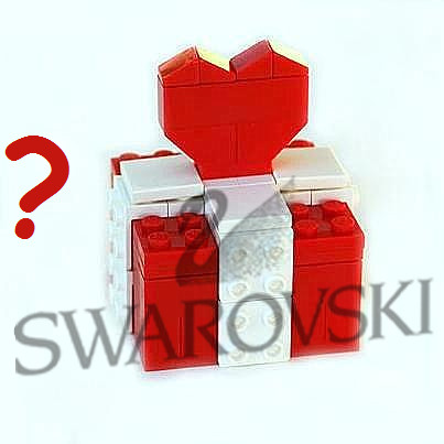 S​urprise gift made from LEGO® bricks with or without SWAROVSKI® crystals Type 3