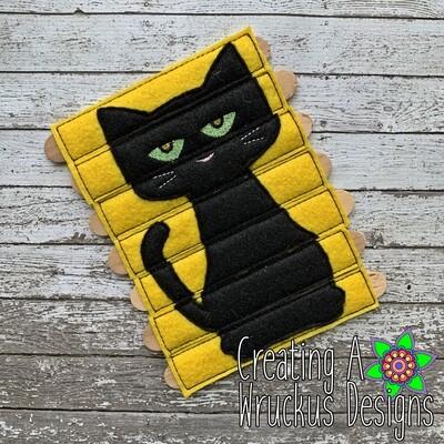 Black Cat Stick Puzzle