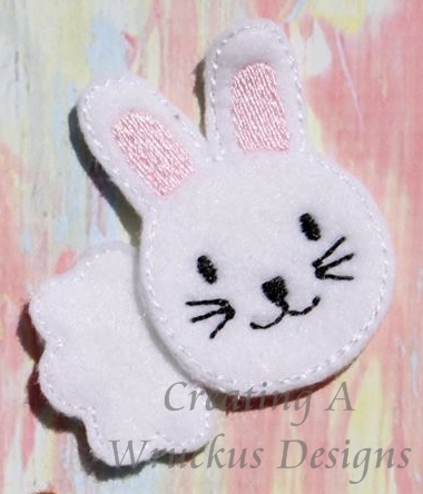 Bunny Heads & Tails Feltie