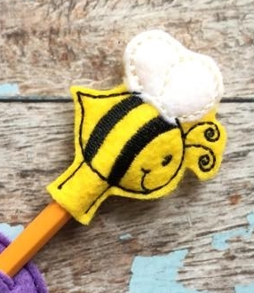 Bee Pencil Topper Version 1