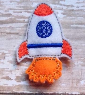 Rocket Pencil Topper