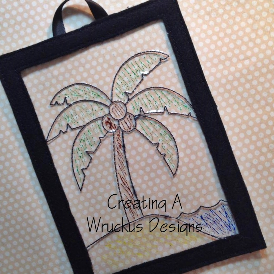 Palm Tree Color Catcher