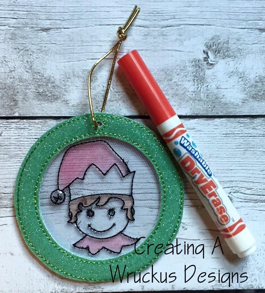 Elf Color Catcher Ornament
