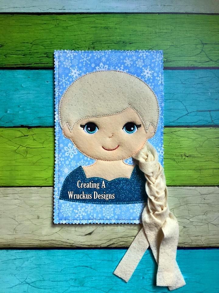 Elsa Learn to Braid
