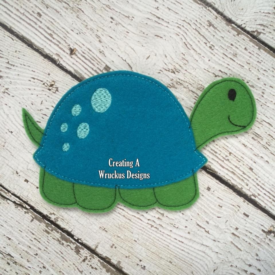 T is for Turtle Super Sized Feltie