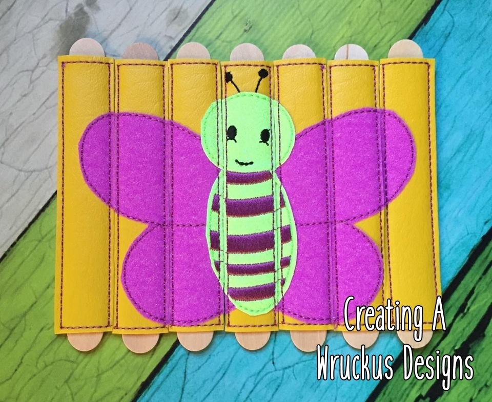 Butterfly Stick Puzzle