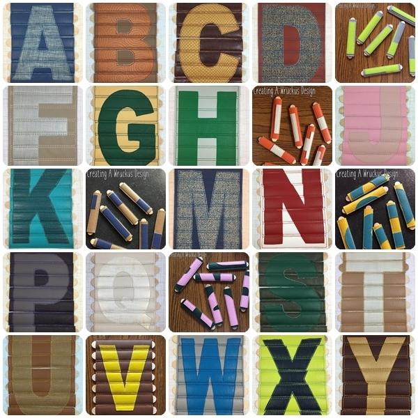 Alphabet Stick Puzzle Set