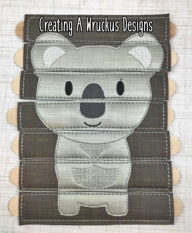 Koala Stick Puzzle - Digitizer Showcase Item
