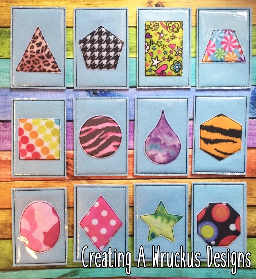 Shape Flashcards 5x7 Only