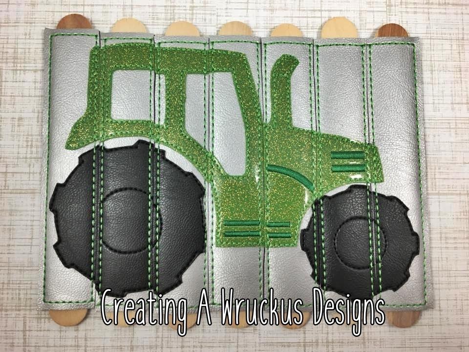 Tractor Stick Puzzle