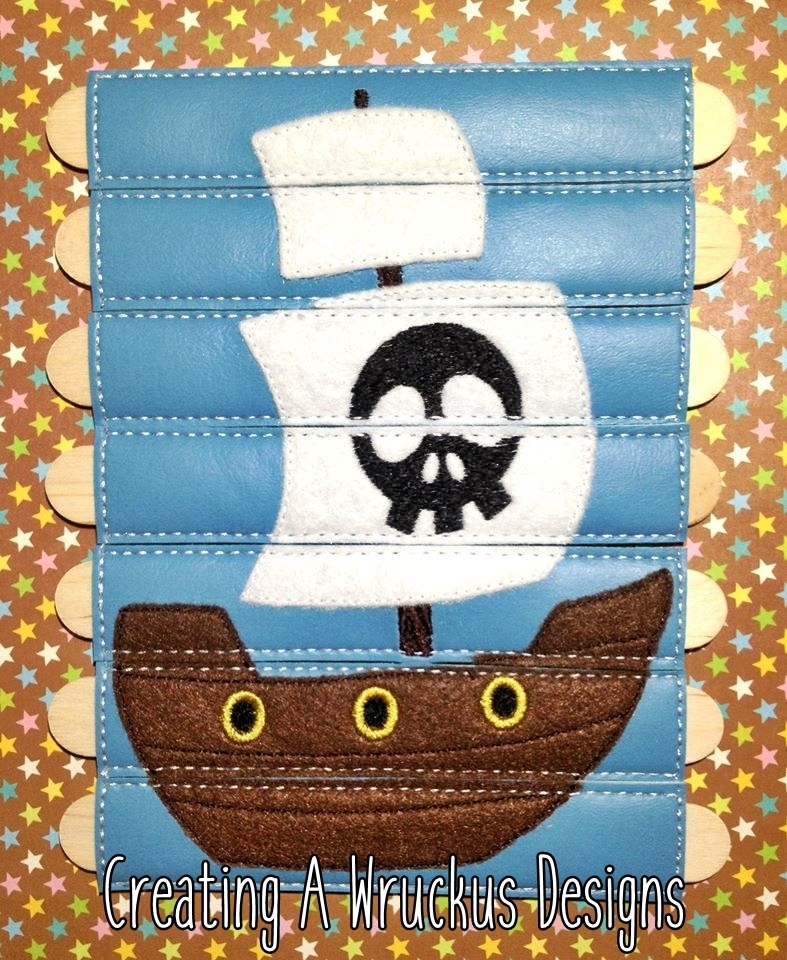 Pirate Ship Stick Puzzle