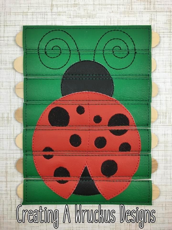 Ladybug Stick Puzzle
