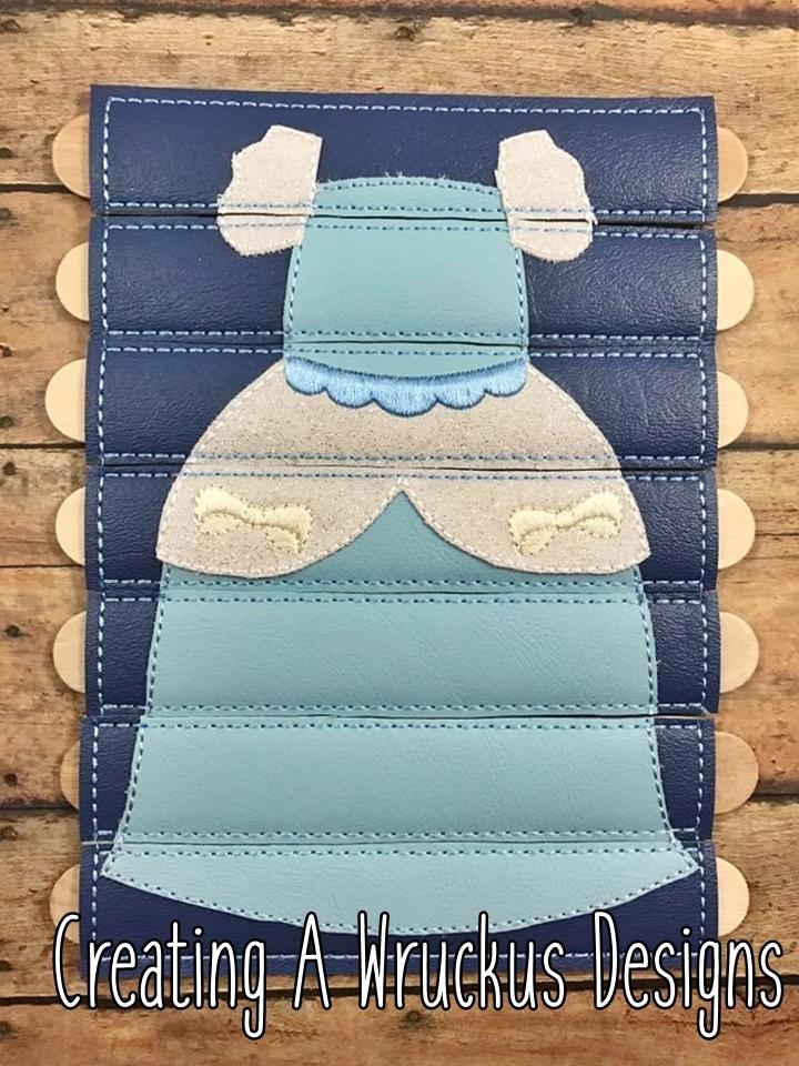 Cinderella Dress Stick Puzzle