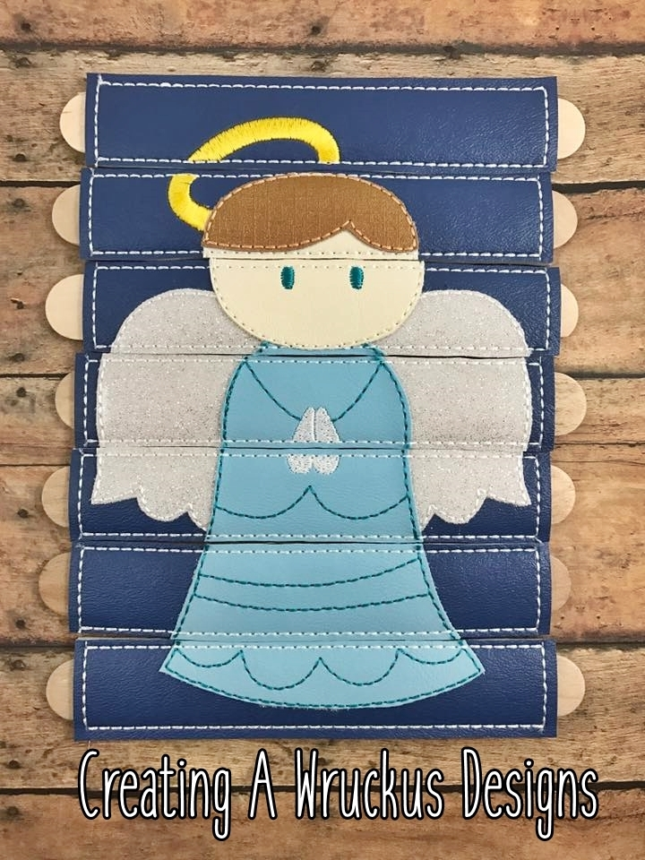 Angel Stick Puzzle