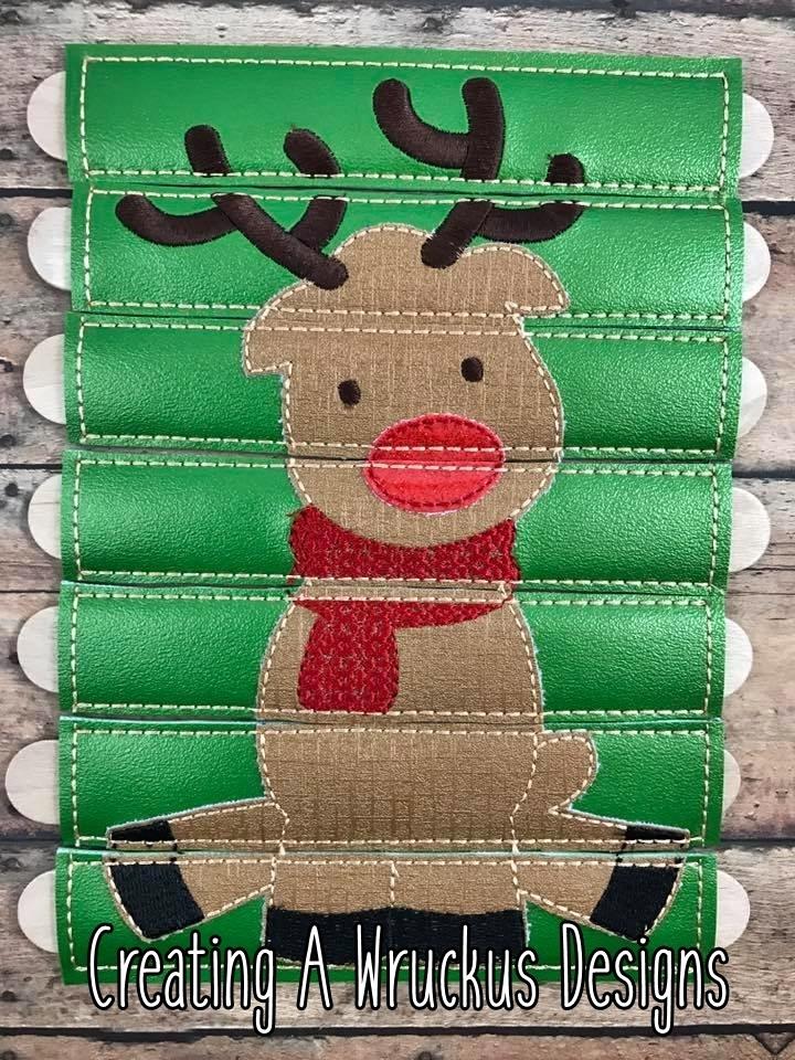 Rudolf Stick Puzzle